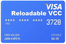 Reloadable VCC services Preloaded with $15