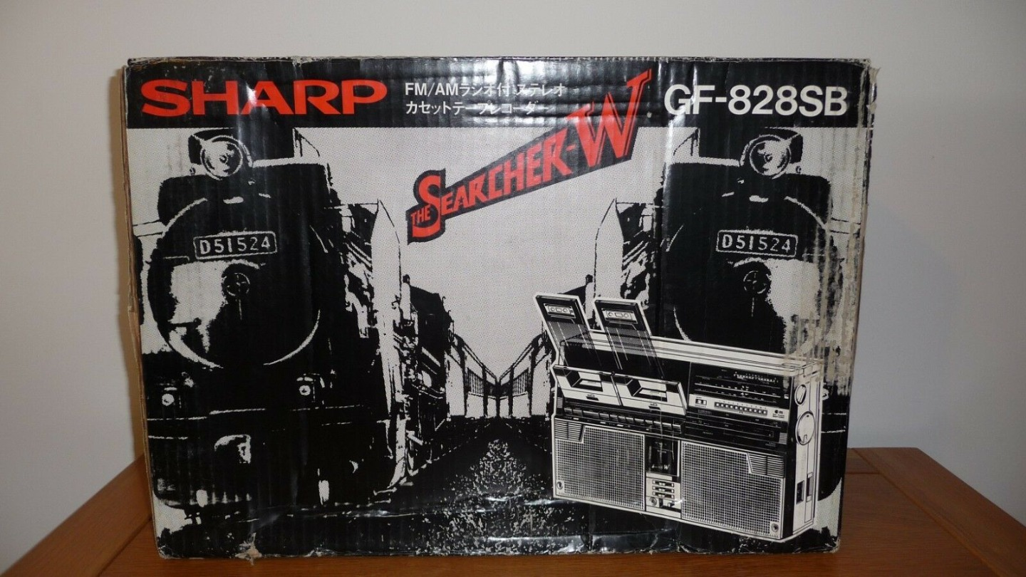 Brand New  SHARP GF-828SB Radio Boombox With Box