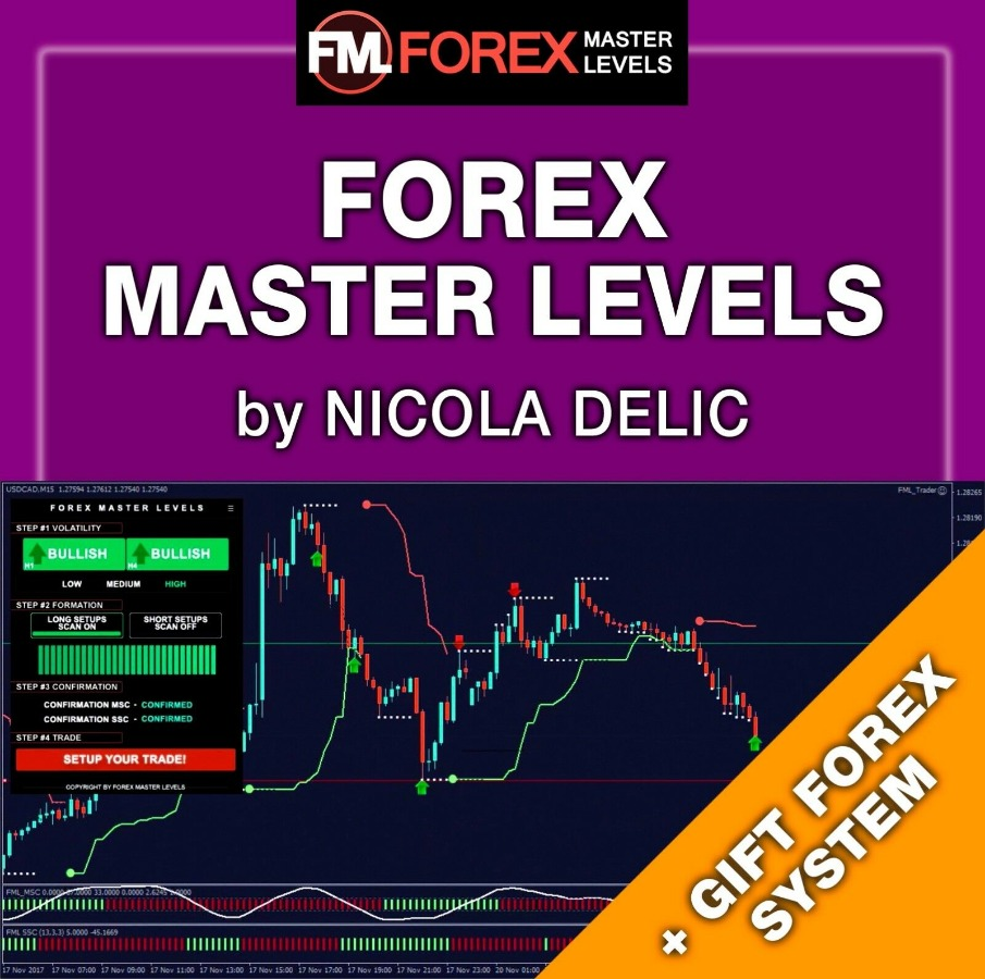 Forex Master Levels Full Video Course