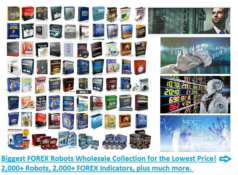 2,000+ FOREX Robots EA Experts, Indicators, eBooks