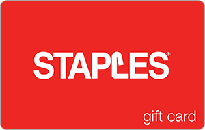 $25 Staples Gift Cards