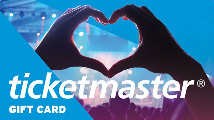 250$ TicketMaster Gift Card