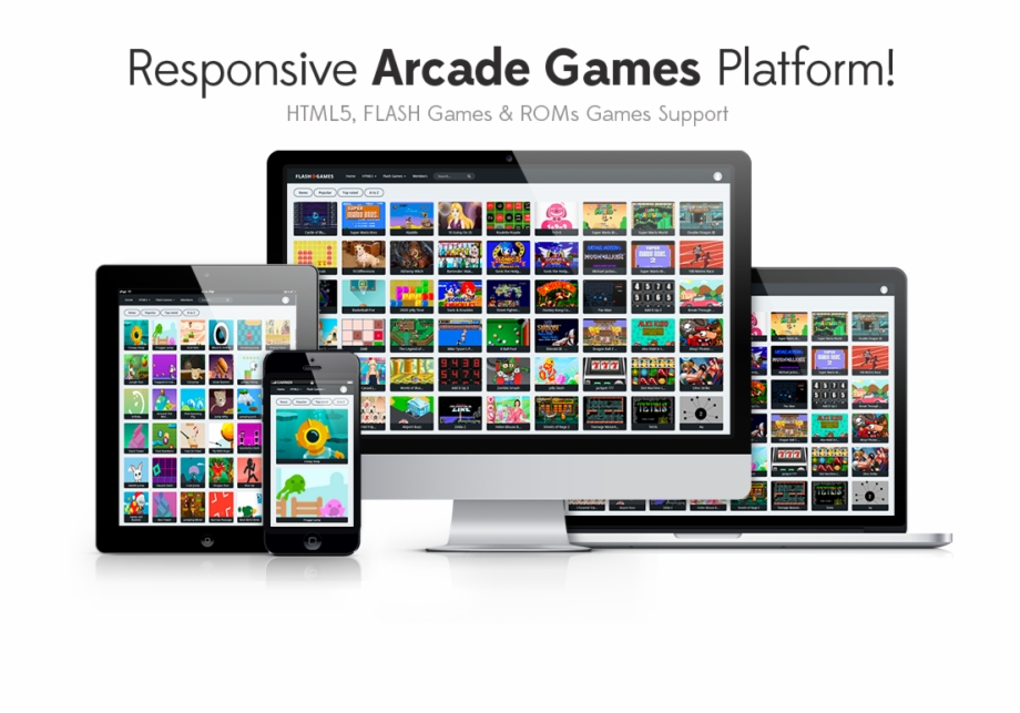 Flash Games & ROMs Games Platform – Arcade Gam...