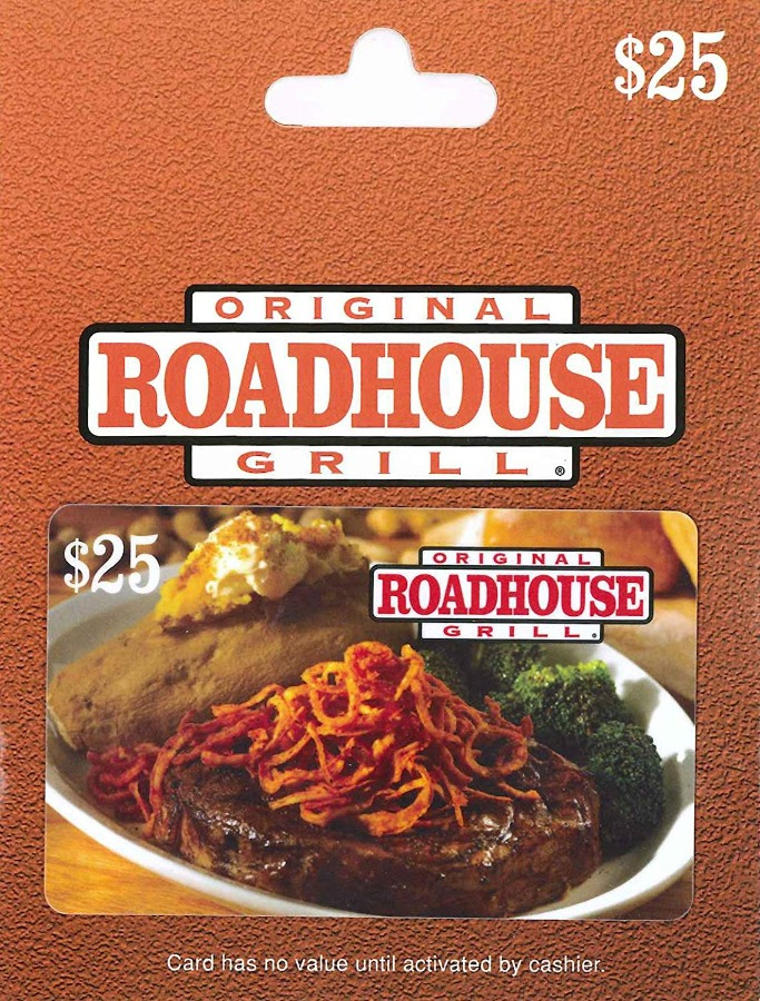 Original Roadhouse Grill $100