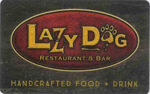 $100 Lazy Dog Gift Cards (5x$20) INSTANT DELIVERY