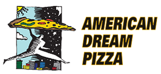 American Dream Pizza $20 w/pin
