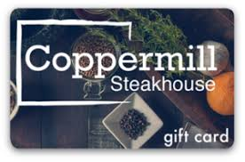 200 $ Coppermillsteakhouse.com Gift Card