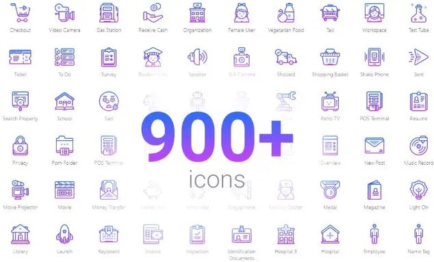 Image Package 1800 Icons + Photos
