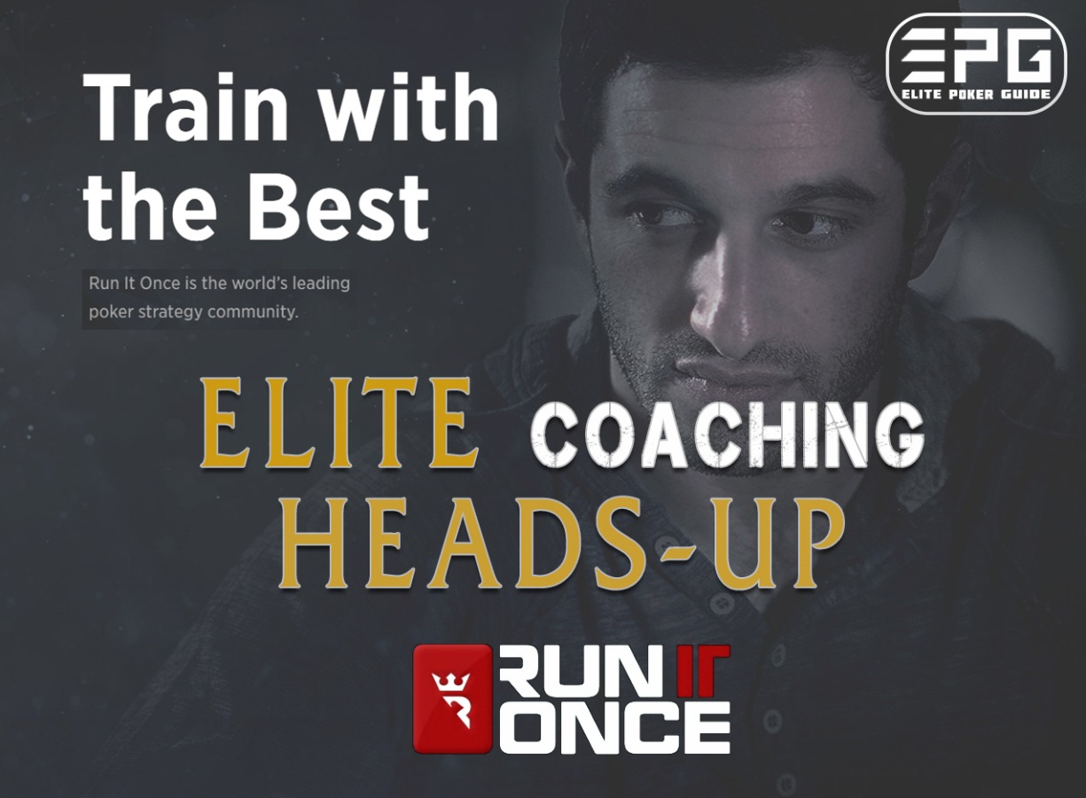 RUN IT ONCE ELITE HEADS-UP COACHING