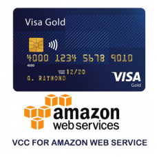 Amazon Web Service AWS VCC Virtual Credit Card