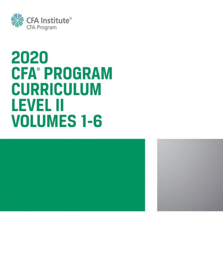 CFA 2020 LEVEL 2 COMPLETE PACKAGE + VIDEO LECTURE