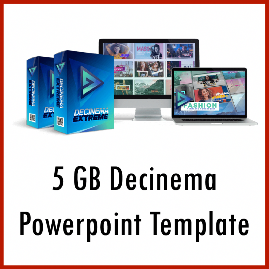5 GB Decinema Powerpoint Template For Creating Video