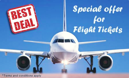 50% Discount On Flight Booking....