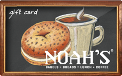 Noahs Bagel Gift Card $25