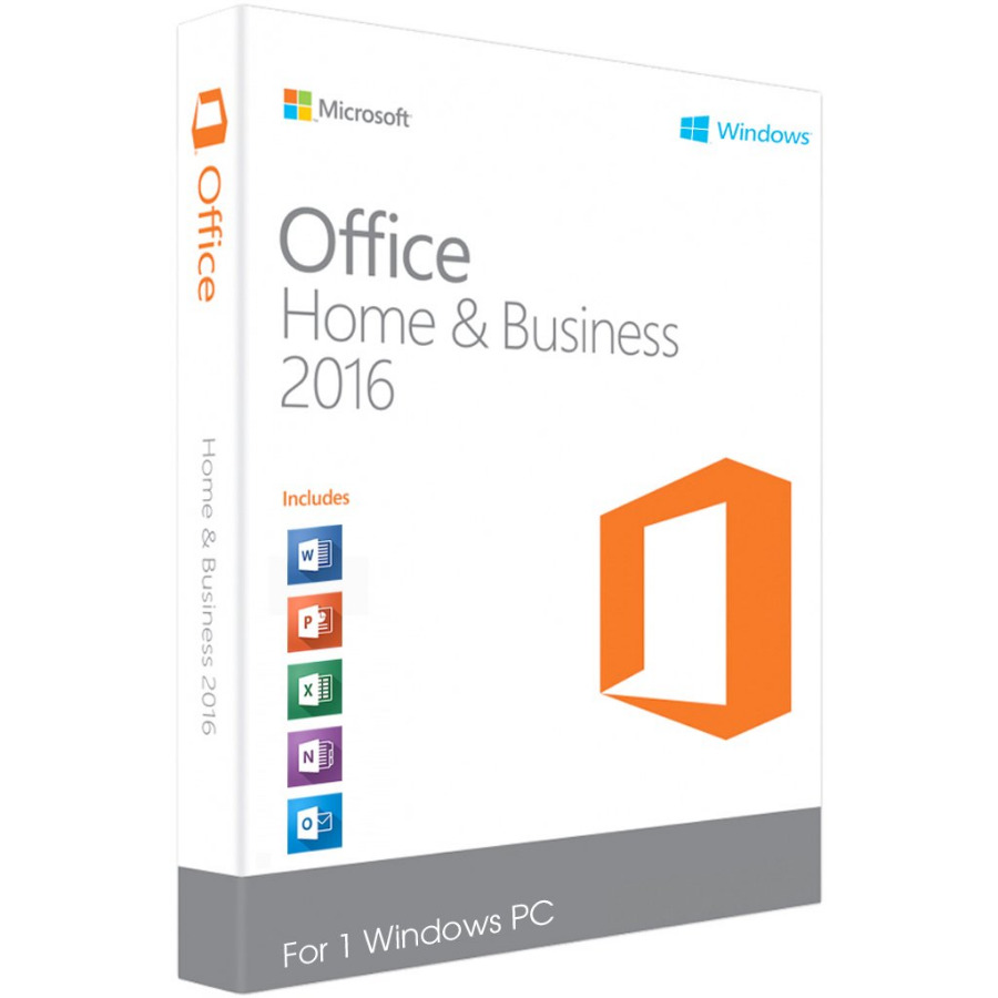 Office 2016 Home and Business for Mac Fast Delivery