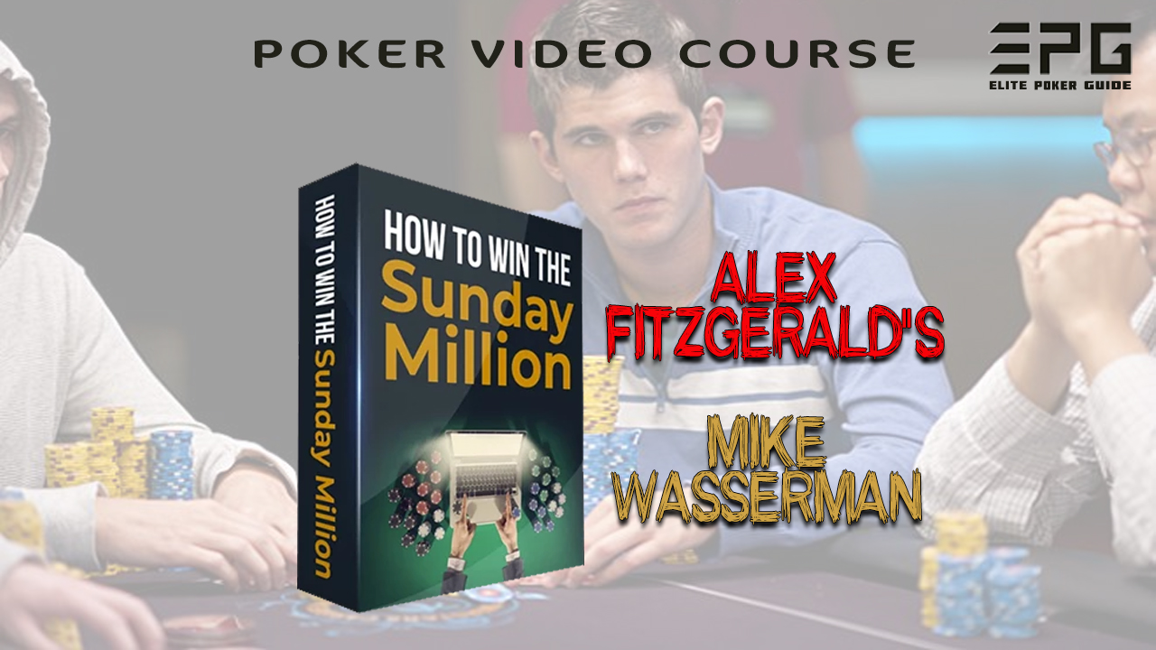 ALEX FITZGERALD HOW TO WIN THE SUNDAY MILLION 2019