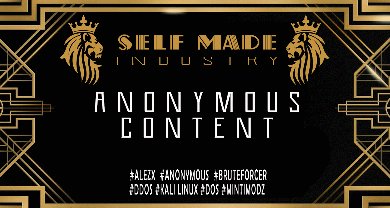 ANONYMOUS CONTENT - SELF MADE COURSES