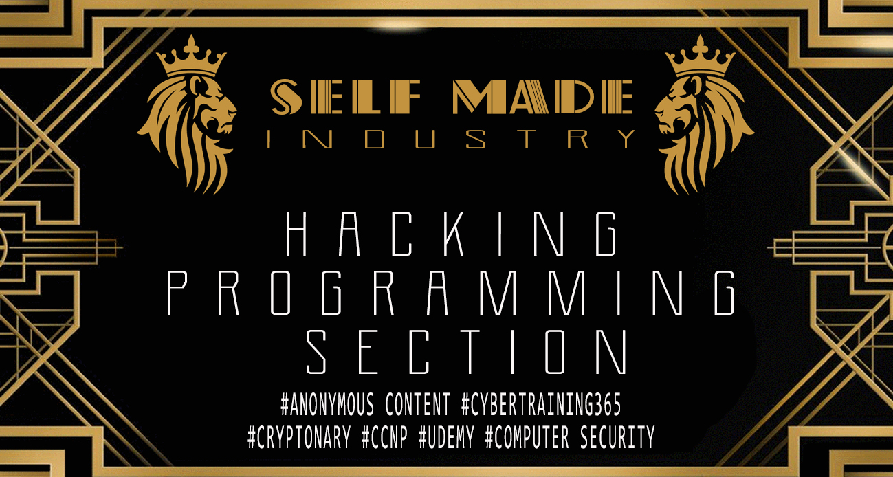 HACKING PROGRAMMING COURSES - SELF MADE ISLAND