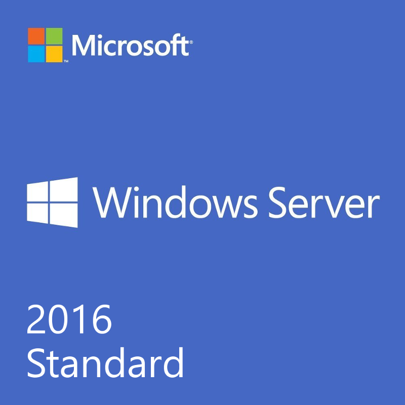 Windows Server 2016 Standard License Key 64 bit