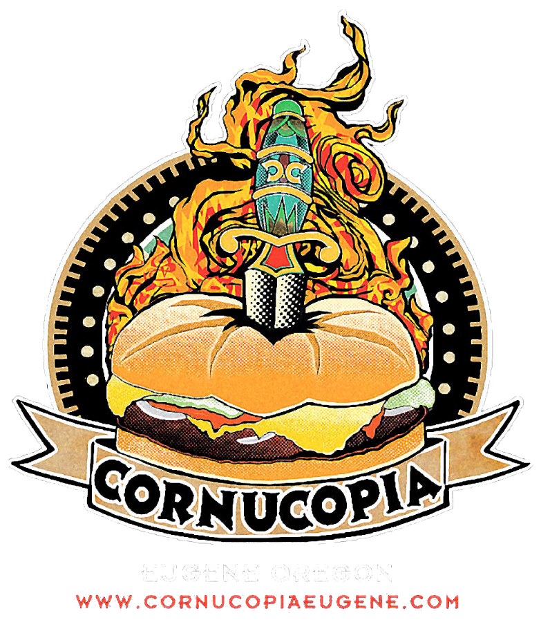 Cornucopia Bar and Burgers $25 W/PIN INSTANT DELIVERY