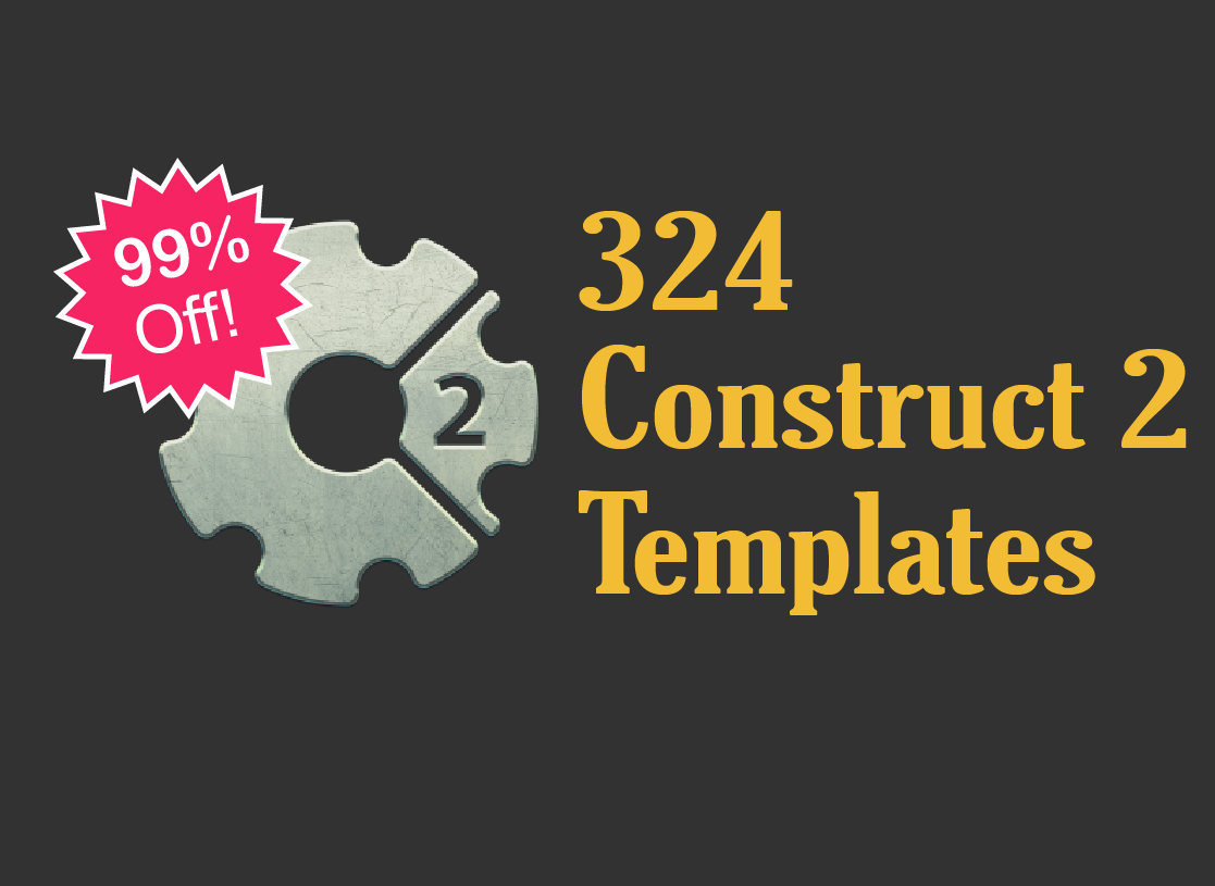 324 Construct 2 Game Templates