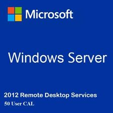 Windows Server 2012 RDS 50 User Cal