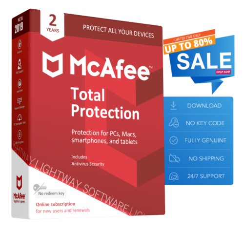 McAfee Total Protection 2 years