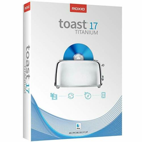 Roxio Toast 17 Titanium (Mac) FULL SOFTWARE Digital