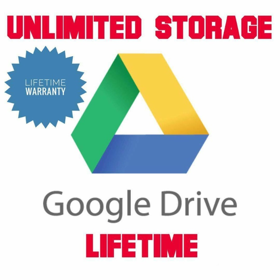 Unlimited Google Drive Storage (For Your Existing Gmail