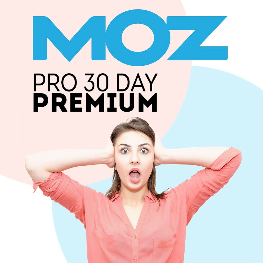 MOZ Pro SEO Account 2019 Premium Features Activated 30