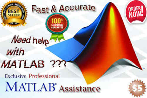 I will help you with matlab tasks and projects
