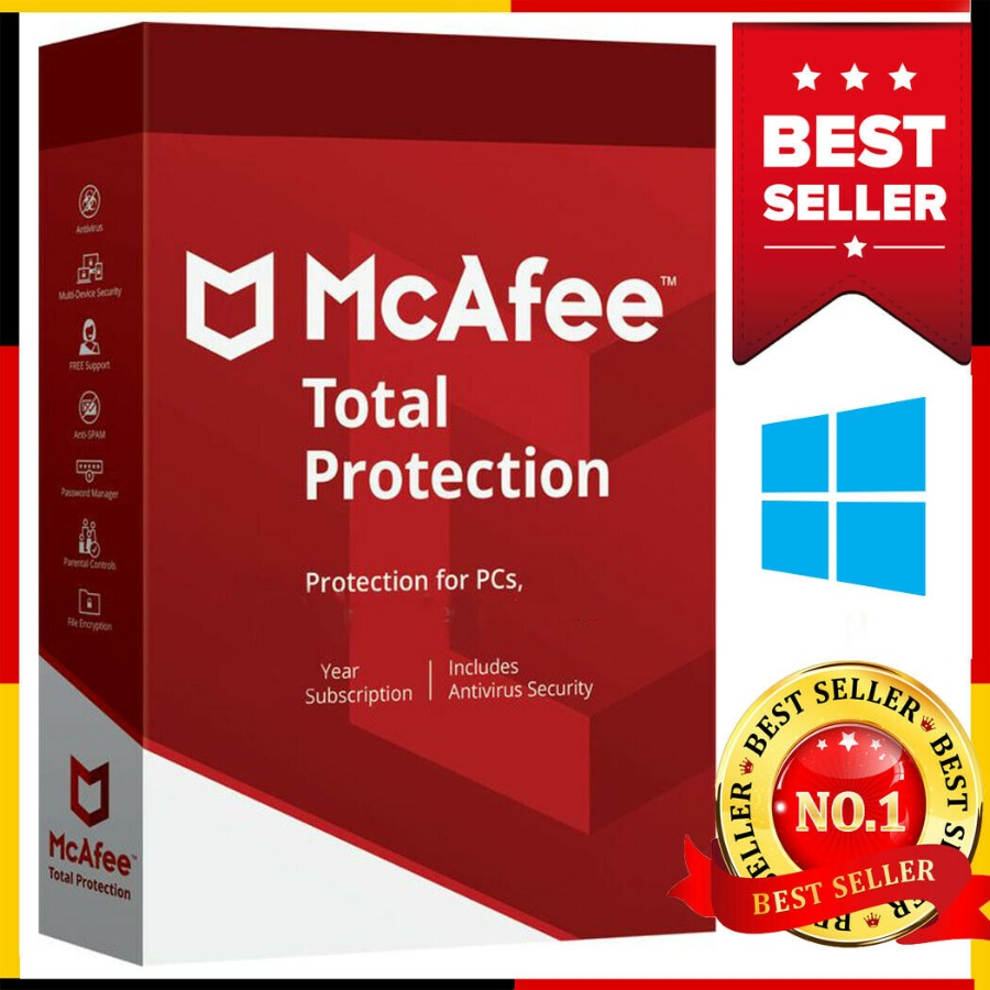 McAfee Total Protection 1 year