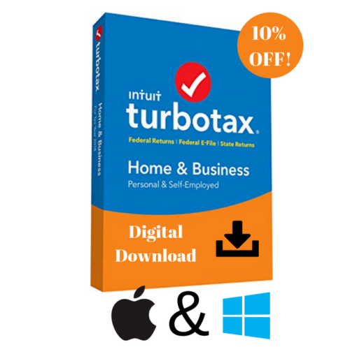 TurboTax Home and Business 2018 Federal + State MAc/win