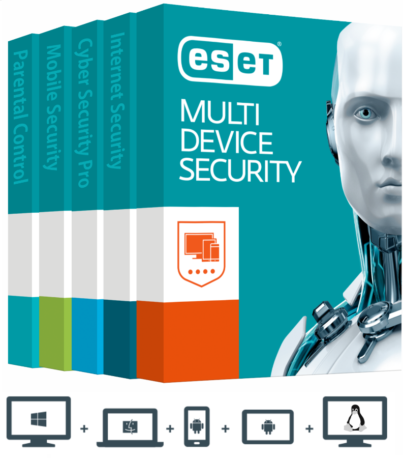 ESET MULTI-DEVICE SECURITY Genuine Key 1 Year