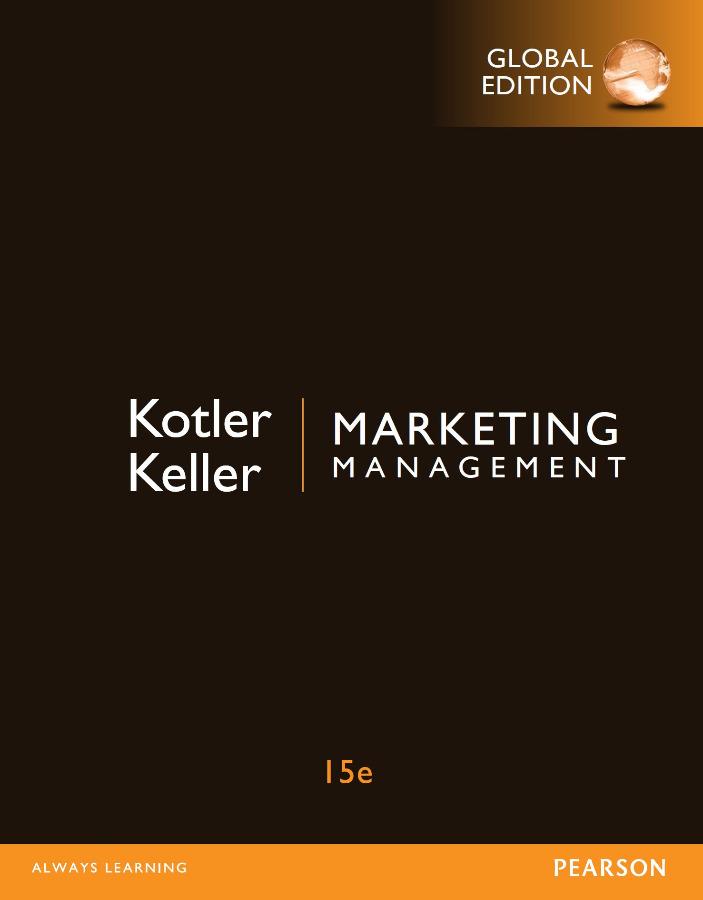 Marketing Management Global (15th Edition)