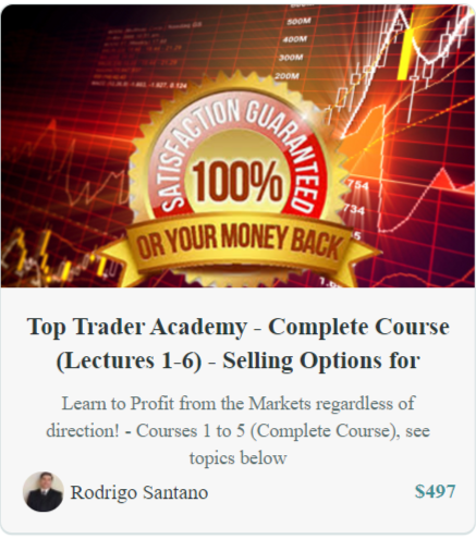 TOP TRADER ACADEMY: SELLING OPTIONS FOR PROFITS