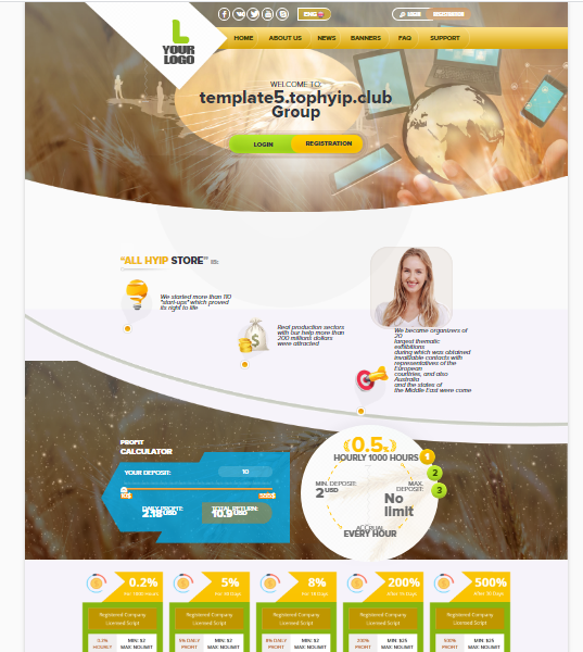 GOLD CODER TEMPLATE 5