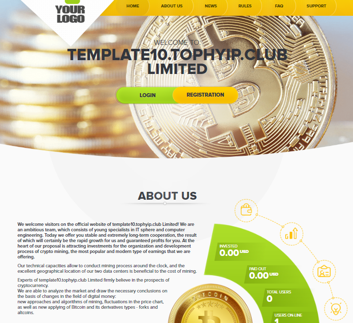 GOLD CODER TEMPLATE 10