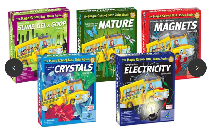 $100 Magic School Bus Five-Kit Bundle