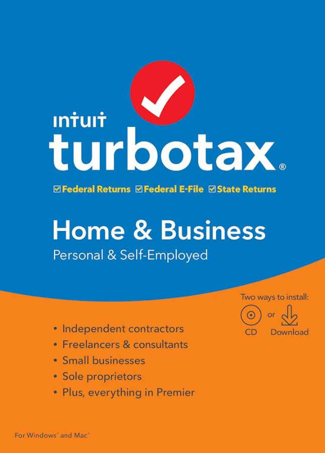 TurboTax Home & Business 2019 (Federal+State)- W...