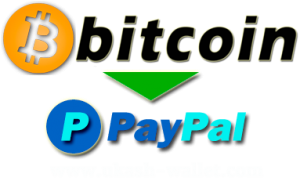 Bitcoin to PayPal – Pay $300 get 355$ in PayPal