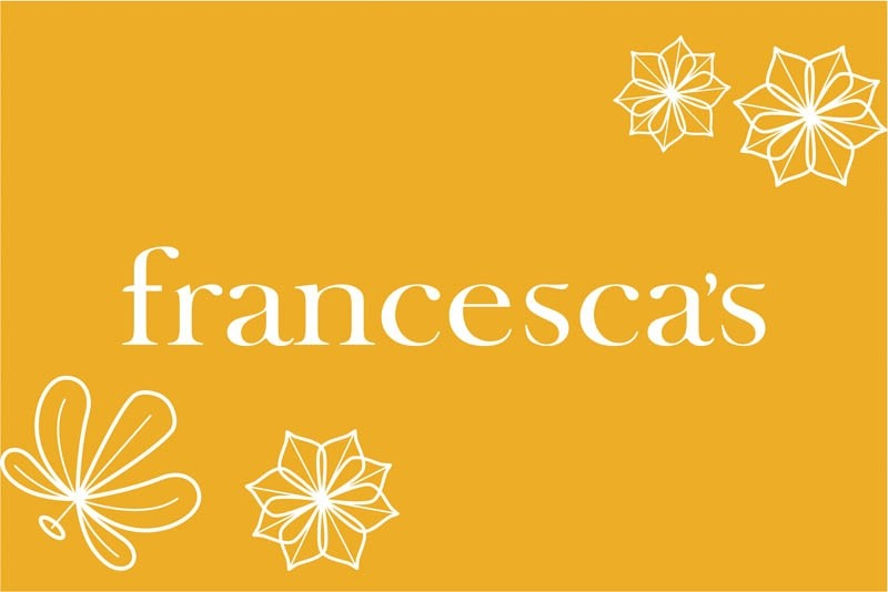 Francesca's $25 Gift Card with PIN *Use Online*