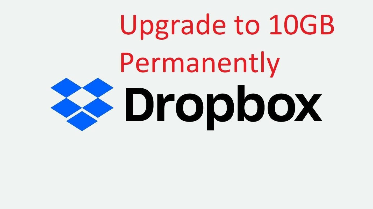 Dropbox + 10GB Life Time Cloud Storage