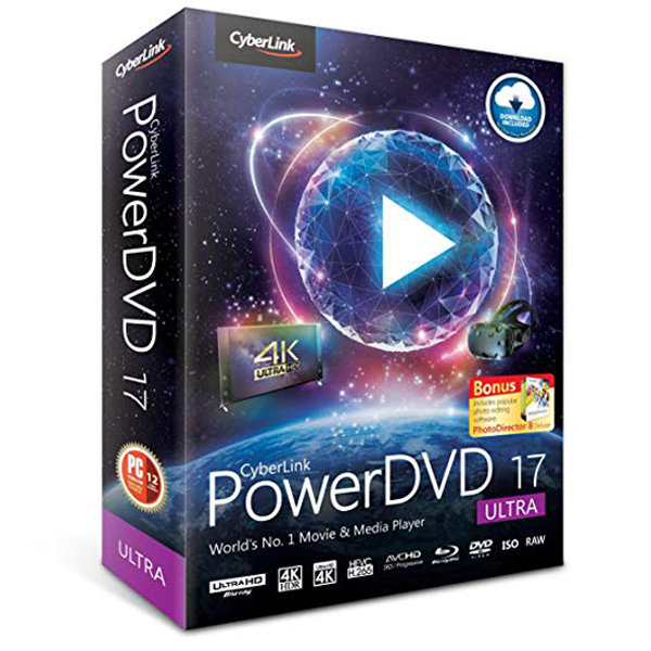 Cyberlink PowerDVD 17 Ultra Download + Key