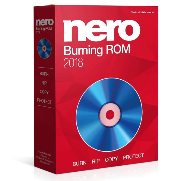 Nero Burning ROM Express 2018 Portable Digital Download