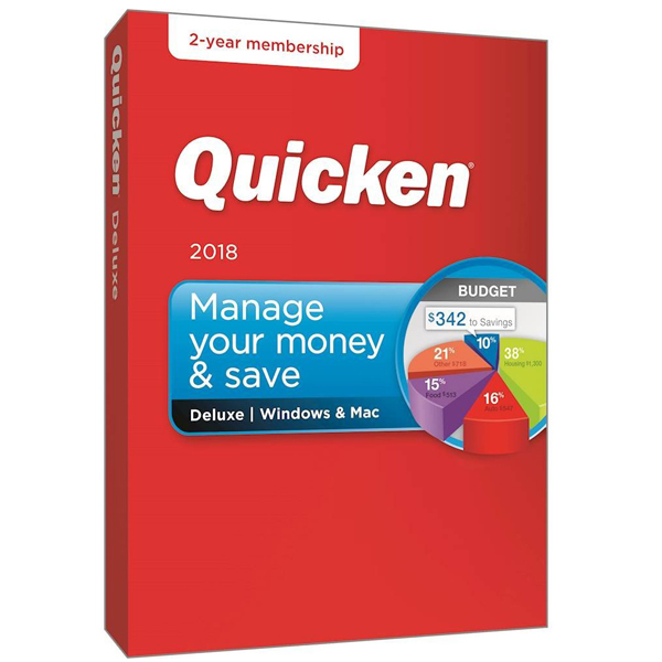 Quicken Deluxe 2017 Pre_activated Digital Download