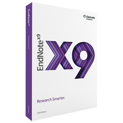 EndNote X9 Reference Manager for Windows & Mac -...