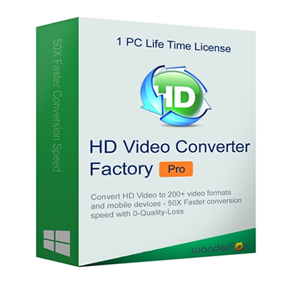 Wonderfox HD VIDEO CONVERTER FACTORY PRO 2019- OFFICIAL