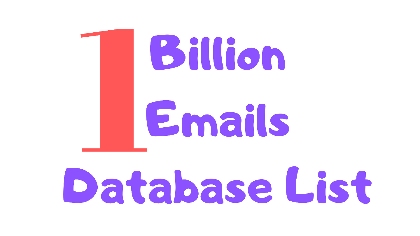 1 billion worldwide email database list at cheap price