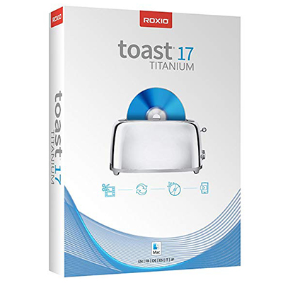 Roxio Toast 17 Titanium (Mac) FULL SOFTWARE - DVD BluRa